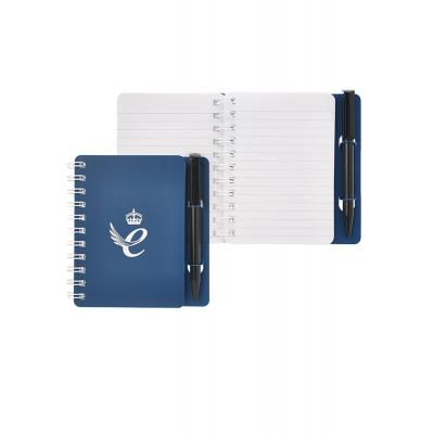 Image of A6 Pad 'n' Pen Book - Foil Blocked With Pen Holder