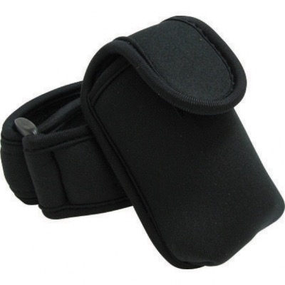 Image of Neoprene Phone Pouch With Strap