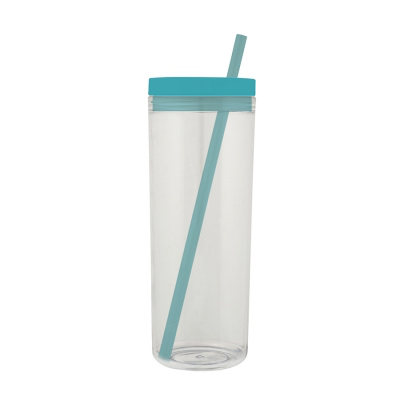 Image of Transparent colourful tumbler