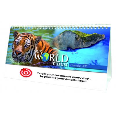 Image of Our World in Trust Desk Calendar