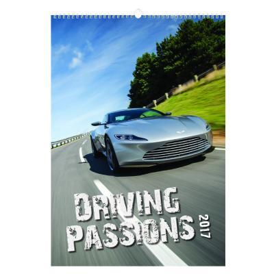 Image of Driving Passions Wall Calendar