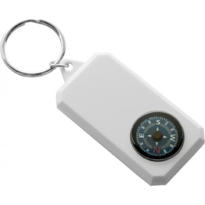 Image of Plastic key holder compass