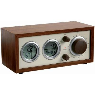Image of Classic Radio with Temperature