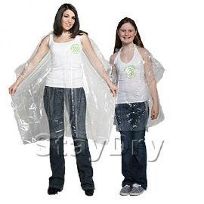 Image of Degradable Eco Friendly Poncho