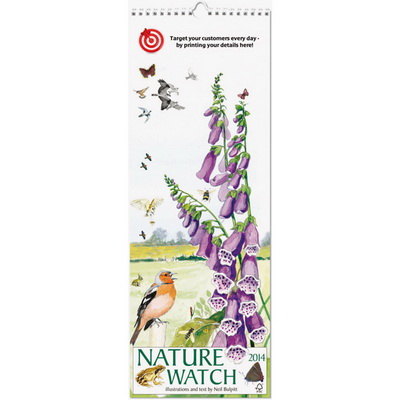 Image of Nature Watch Slim Wall Calendar