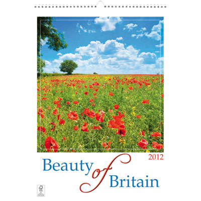 Image of Beauty of Britain Wall Calendar