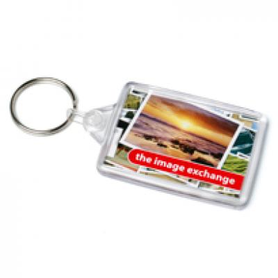 Image of Acrylic Ideal Keyfob 41x66mm
