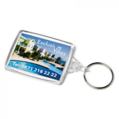 Image of Acrylic Passport Keyfob 41x61mm