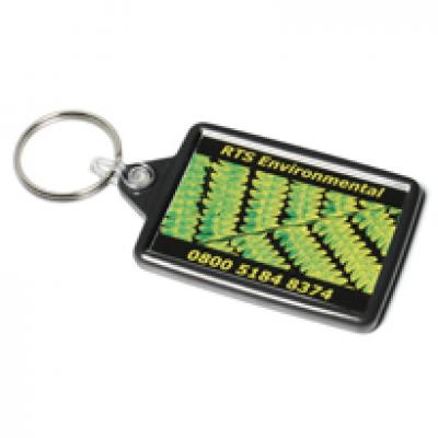 Image of Acrylic Reclaim Keyfob 41x66mm