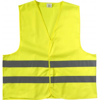 Image of High visibility promotional safety jacket