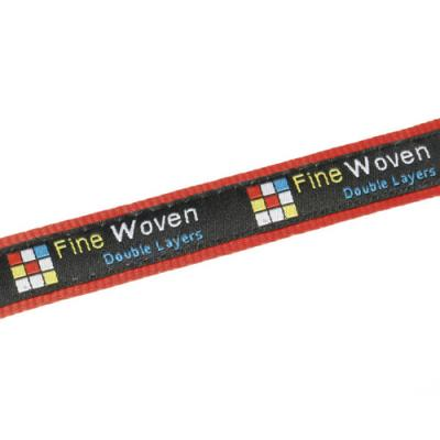 Image of 20mm Fine Embroidered & Satin Lanyard