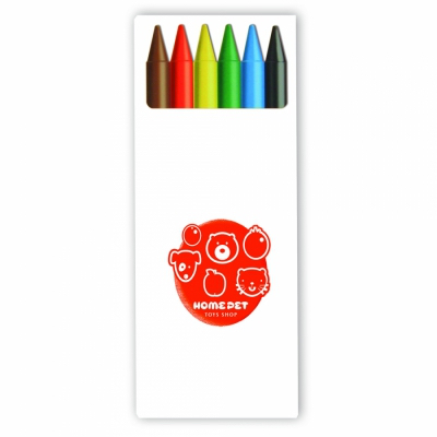 Image of BIC® Kids Plastidecor® set of 6 crayons