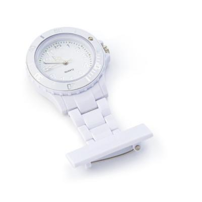 Image of ABS nurse watch with silver and white coloured digits.