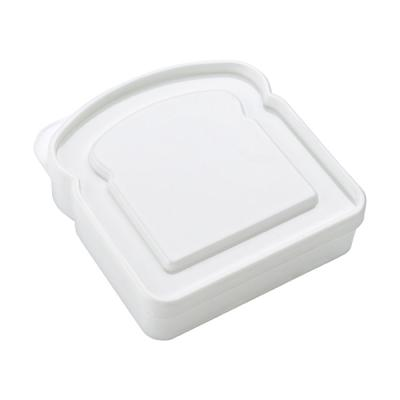 Image of Plastic sandwich shaped lunch box