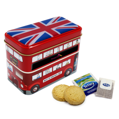 Image of Bus Tin Tea Biscuits