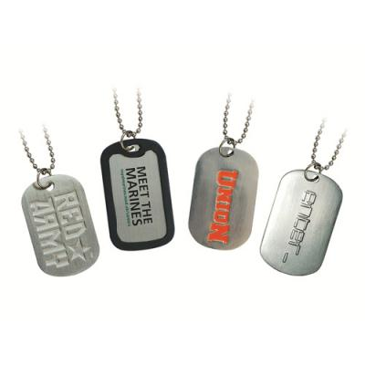 Image of Debossed Dog Tags