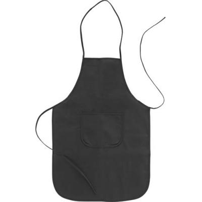 Image of Non-woven, 70 g/m² apron with a front pocket.