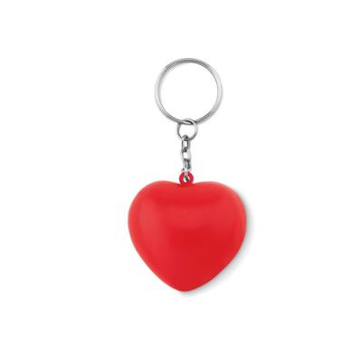 Image of Keyring with PU heart