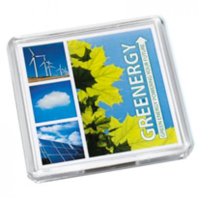 Image of Acrylic Square Magnet 64x64mm