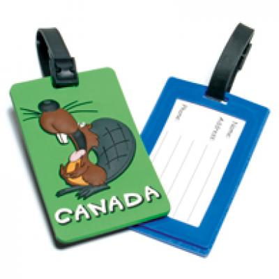 Image of Soft PVC Luggage Tag