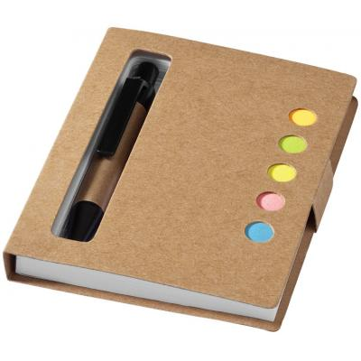 Image of Reveal sticky notes book and pen
