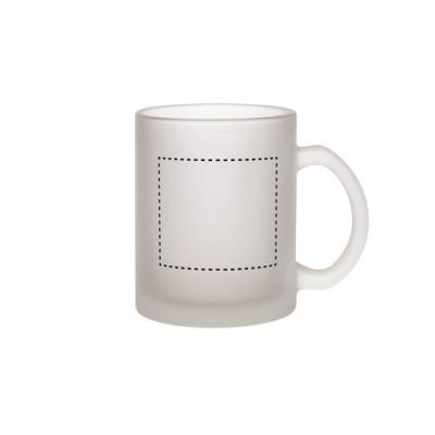 Image of Budget Buster Frosted Glass Mug