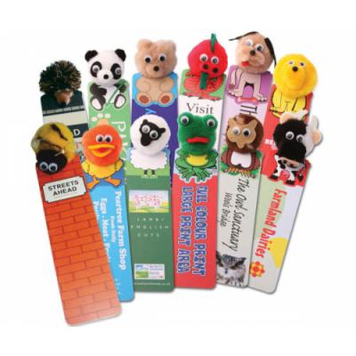 Image of Logobug Animal Bookmarks