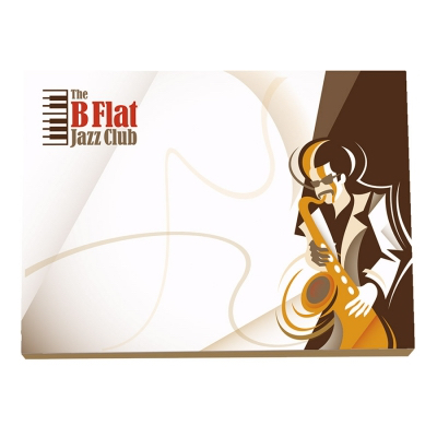 Image of BIC® 101 mm x 75 mm 25 Sheet Adhesive Notepads