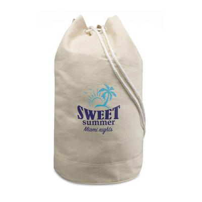 Image of Cotton duffle bag