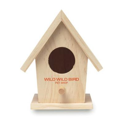 Image of Wooden Bird House