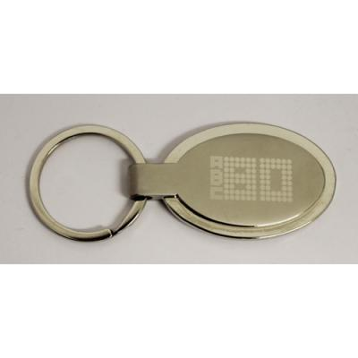 Image of ECLIPSE OVAL KEYRING