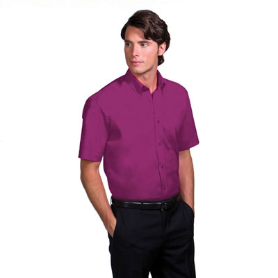 Image of Kustom Kit Men's Short Sleeve Corporate Oxford Shirt