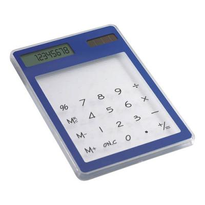 Image of Transparent solar calculator