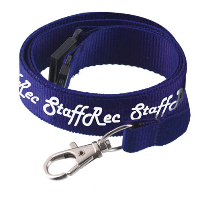 Image of Flat Polyester Lanyard 15 x 900mm