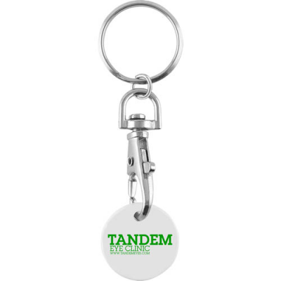 Image of Trolley Coin Keychain