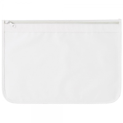 Image of Nylon Document Wallets - All White