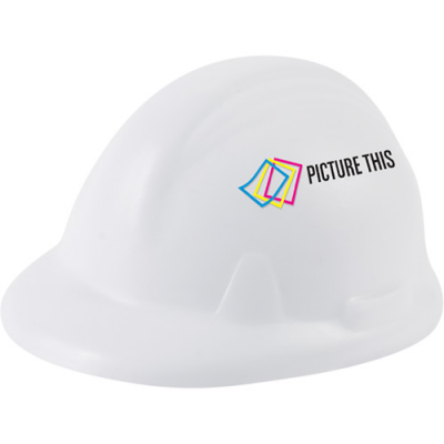 Image of Stress Ball  Hard Hat Shape
