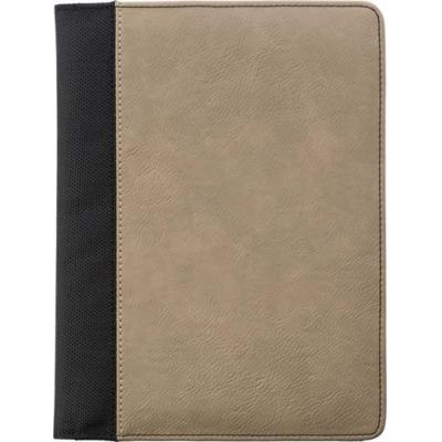 Image of A5 Pad Printed folio with PU cover