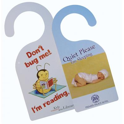 Image of Plastic Door Hangers