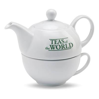Image of Teapot and cup set
